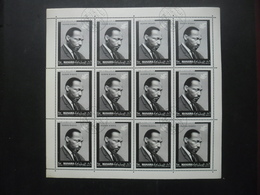 MANAMA Bloc Martin Luther King Oblitéré - Stamps