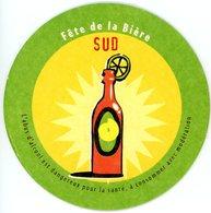 France. Fête De La Bière. Sud. Nord. L'abus D'alcool Est Dangereux Pour La Santé, à Consommer Avec Modération. - Sous-bocks