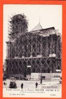 SAM088 PARIS Echafaudages Rapides Eglise SAINT-EUSTACHE Maison HECTOR LIEVRE 65 Quai GARE-50 Avenue IVRY Cppub 1910s St - Arrondissement: 01