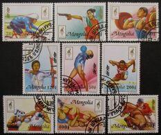 MONGOLIE Série N°2086 Au 2094 Oblitéré - Stamps