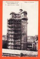 SAM094 VINCENNES (94) Echafaudages Rapides DONJON Maison HECTOR LIEVRE  65 Quai De La GARE-50 Avenue IVRY Cppub 1910s St - Vincennes