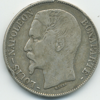 5 Francs Louis-Napoléon (2ème République) 1852 A - Le Franc 329/1 - France