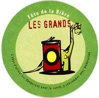 France. Fête De La Bière. Les Grands (dinosaure). Les Petits (souris). L'abus D'alcool Est Dangereux Pour La Santé. - Sous-bocks