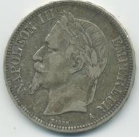 5 Francs Napoléon III (2ème Empire) 1867 A - Le Franc 331/9 - France