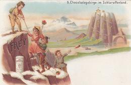 Chocolat Frey Im Schlaraffenland - Litho            (P-166-70507) - Publicidad