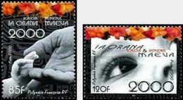 Polynésie Française  2000    Cat Yt N° 610 , 611     N** MNH - Unused Stamps