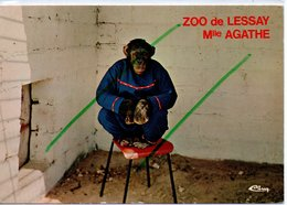 LESSAY LE  ZOO MELLE AGATHE - Frankreich