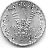 *hungary 20 Filler 1965 Km 550  Unc - Hongrie
