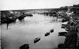 Conflans Fin D ' Oise - Le Pont Du Chemin De Fer - Conflans Saint Honorine