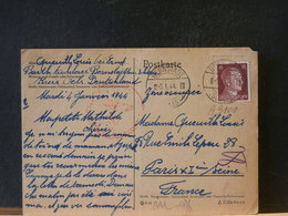 A9100  CP POUR LA FRANCE  1944 - Allemagne
