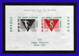 1960 - Cuba - JJOO De Roma - MNH - CU- 246 - 05 - Hojas Y Bloques