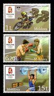 Olympics 2008 - Olympiques - Cycling - MOLDOVA - Set MNH - Summer 2008: Beijing