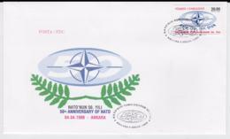 Turkey 1999 FDC NATO 50 Years (T12-19) - Militaria