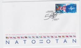 Canada  1999 FDC NATO 50 Years (T12-19) - Militaria