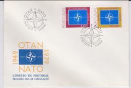 Portugal 1979 FDC 30 Years NATO  (T10-3) - Militaria