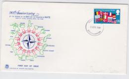 Great Britain  1969 FDC NATO 20 Years  (T10-3) - Militaria