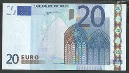 "Greece  ""Y""  20 EURO GEM UNC! DUISENBERG Signature Printer N001A1!! - EURO"
