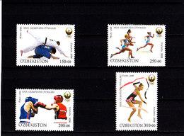 Olympics 2008 - Olympiques - Judo - UZBEKISTAN - Set MNH - Summer 2008: Beijing