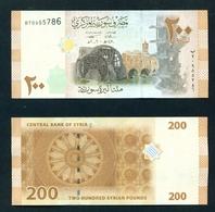 SYRIA - 2009 200 Pounds UNC - Syria