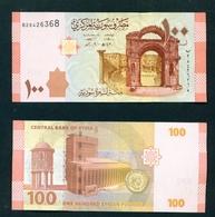 SYRIA - 2009 100 Pounds UNC - Siria