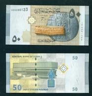 SYRIA - 2009 50 Pounds UNC - Siria