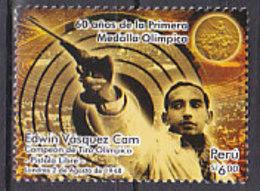 Olympics 2008 - Olympiques - Shooting - PERU - Stamp MNH - Summer 2008: Beijing