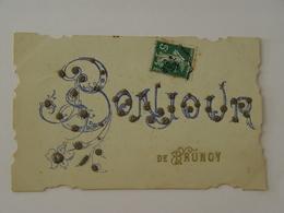 ESSONNE-BONJOUR DE BRUNOY - Brunoy
