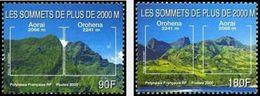 Polynésie Française  2000    Cat Yt N° 623, 624     N** MNH - Unused Stamps