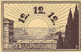 12.12.12. - Karte Ebenso Abgestempelt - 1912          (P-166-71102) - Fantaisies