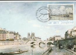 """Carte Maximum FR.""""J.B.Jongkind"""" 27/10/2001. - Cartoline Maximum"""