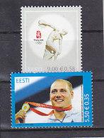 Olympics 2008 - Olympiques - Athletics - ESTLAND - 2v MNH - Summer 2008: Beijing