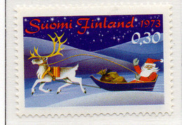 PIA - FINLANDIA - 1973 : Natale - (Yv 703) - Christianity