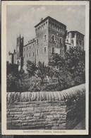 SANGUINETTO - CASTELLO MEDIOEVALE - FORMATO PICCOLO - EDIZ. TOSI VERONA - VIAGGIATA DA SANGUINETTO 03.APR. 1933 - Castelli