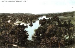 Sherbrooke Québec - Rivière Saint-François - St. Francis River - Pinsonneault Frères - Unused - 2 Scans - Sherbrooke