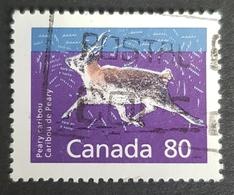 1990 Canadian Mammals, Canada, *,**, Or Used - 1952-.... Reign Of Elizabeth II