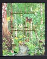 NOUVELLE CALEDONIE  BLOC N° 11  NEUF SANS CHARNIERE COTE  11.50€  PAPILLON ANIMAUX EXPOSITION PHILATELIQUE - Blocks & Sheetlets