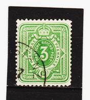 TNT219  DEUTSCHES REICH 1875/79 Michl 31 B  GEPRÜFT Used / Gestempelt Siehe ABBILDUNG - Used Stamps