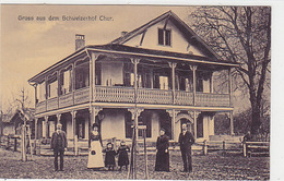 Chur - Gruss Aus Dem Schweizerhof - Animiert - 1911          (P-166-71102) - GR Grisons