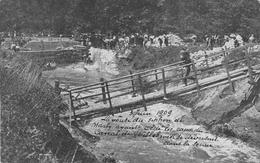 3 Juin 1909 La Voute Du Syphon De Marly Avan Cédé Les Caux Du Canal De Willeborek Se Deversent Dans La Senne Bruxelles - Navigazione