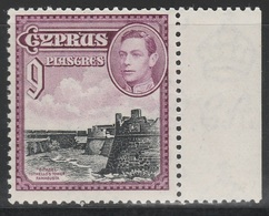 Cyprus 1938 - SG 159, 9pi - Othello`s Tower, Famagusta - MNH - Cyprus (...-1960)