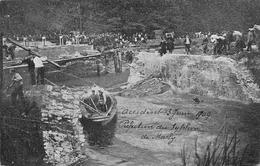 Accident Du 3 Juin 1909 Refection Du Syphon De Marly A Bruxelles Brussel - Navigazione