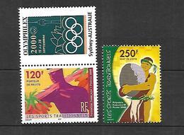 Polynésie Française  2000    Cat Yt     N° 625, 626  N** MNH - Unused Stamps