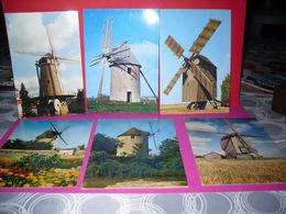 Lots De 13 Cpm (moulins Divers) - 5 - 99 Postcards