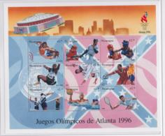 Nicaragua 1996 Olympic Games Atlanta Souvenir Sheet MNH/** (LAR-H43) - Summer 1996: Atlanta