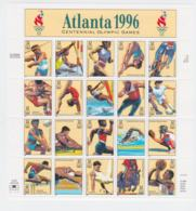 USA 1996 Olympic Games Atlanta Souvenir Sheet MNH/** (LAR-H43) - Summer 1996: Atlanta