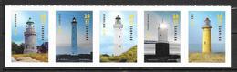 Danemark 2019 Série Neuve Phares - Unused Stamps