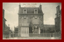 Dinard * Villa Ker Yvonnic   (scan Recto Et Verso ) - Dinard