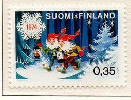 PIA - FINLANDIA - 1974 : Natale - (Yv 722) - Christianity