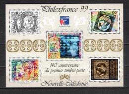 NOUVELLE CALEDONIE  BLOC N° 22  NEUF SANS CHARNIERE COTE  40.00€    EXPOSITION PHILATELIQUE - Blocks & Sheetlets