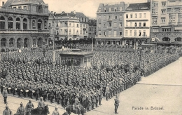 Parade In Brüssel Bruxelles Brussel - Grand Place - Marktpleinen, Pleinen